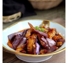 Fish Flavored Eggplant Pot